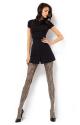 Women's patterned tights ESTERA 60DEN Mona