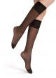 Women's compression knee-high stockings SUPER COMFORT 20DEN Golden Lady