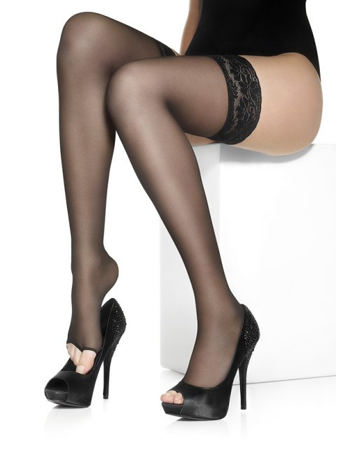 Women's self-hold toeless stockings NUDO NF 15DEN Marilyn