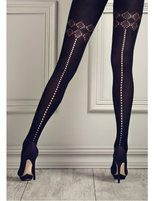 Women's patterned tights GUCCI G10 120DEN Marilyn