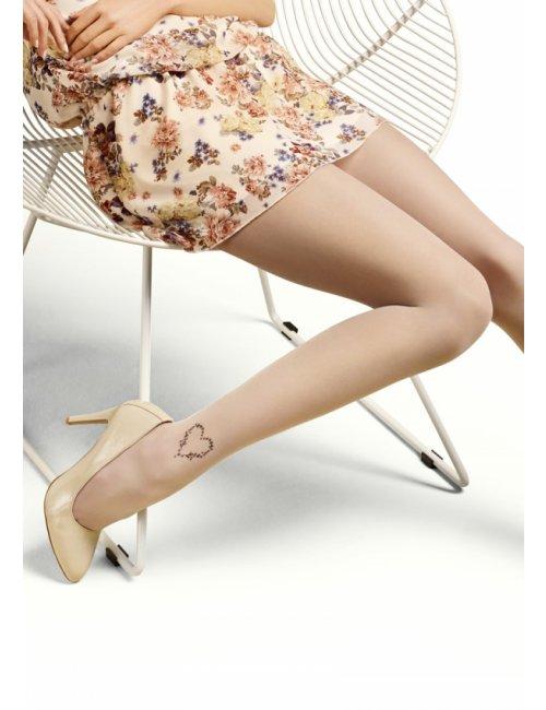 Women's patterned tights EMMY D02 20DEN Marilyn