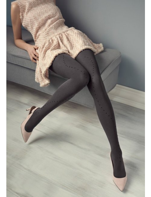 Women's patterned tights GUCCI G24 100DEN Marilyn
