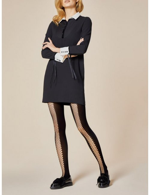 Women's fishnet tights RAPIDE 40DEN Fiore