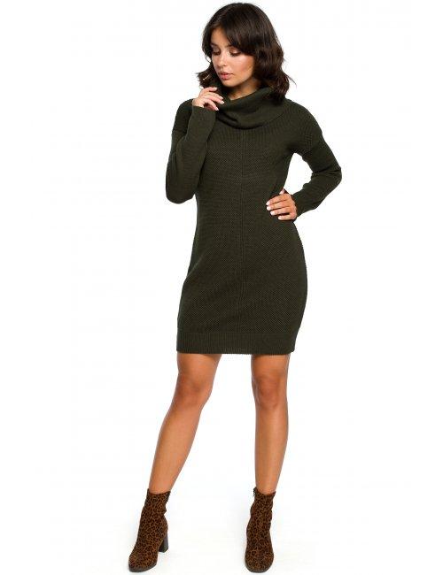 Women's knitted dress BK010 BE