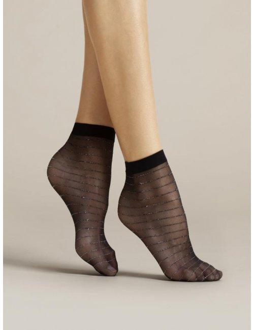 Women's patterned socks ANELLO 20DEN Fiore