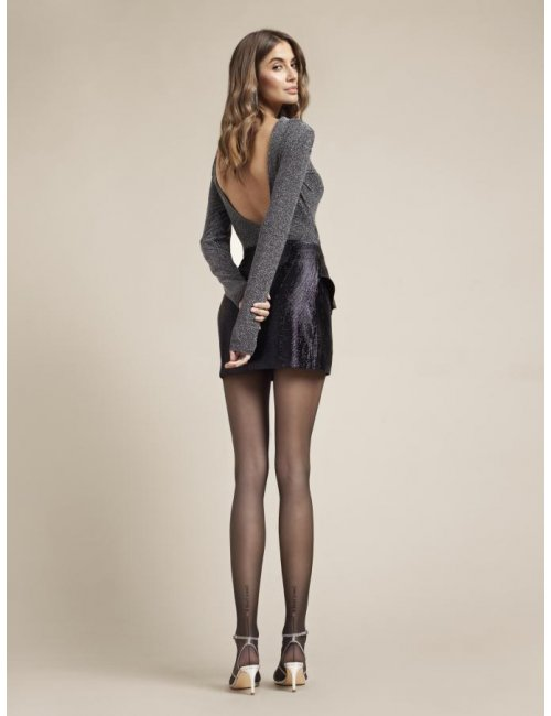 Women's patterned tights I FEEL YOU 20DEN Fiore
