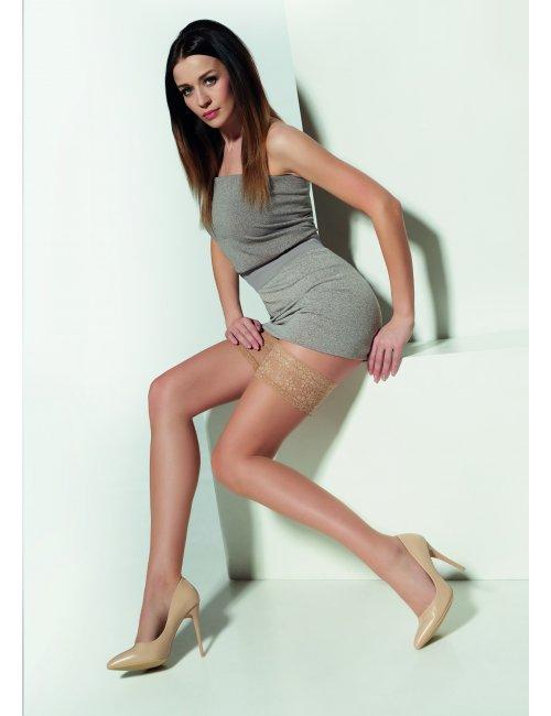 Women's self-hold stockings METTE 7DEN Adrian
