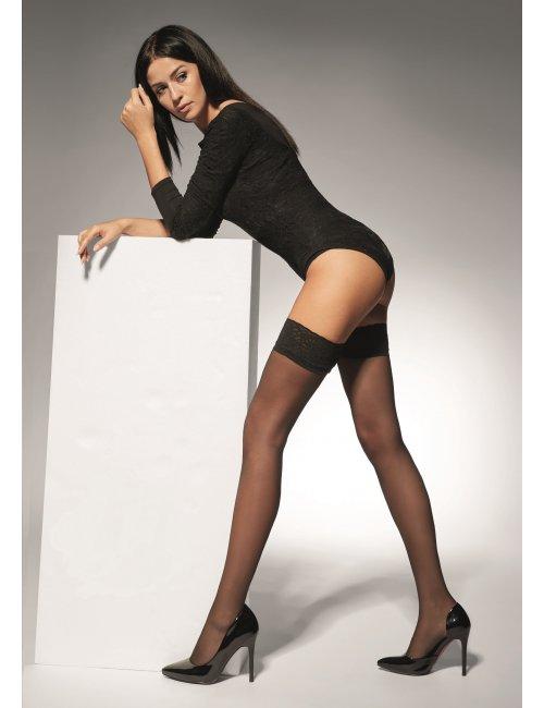 Women's self-hold stockings SALMA 15DEN Adrian