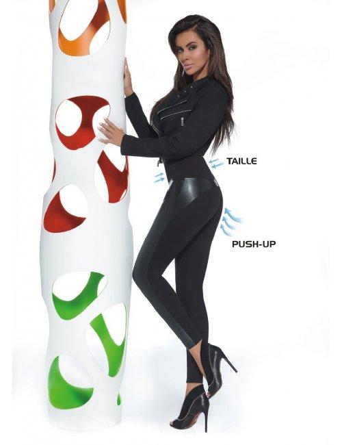 Women's leggings ALLY 200DEN BasBleu