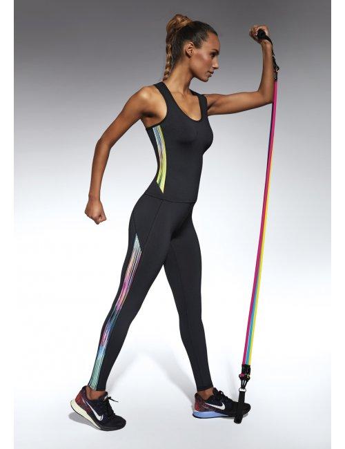 Sports leggings COSMIC 200DEN BasBleu