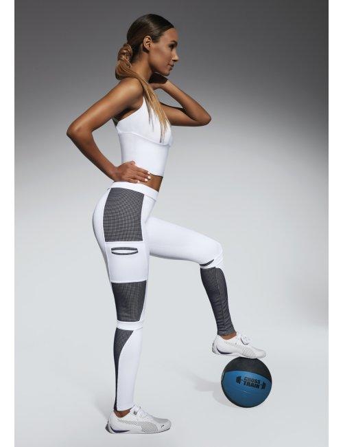 Sporty leggings PASSION 200DEN BasBleu