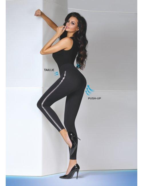 Women´s push-up leggings ELDA 200DEN BasBleu