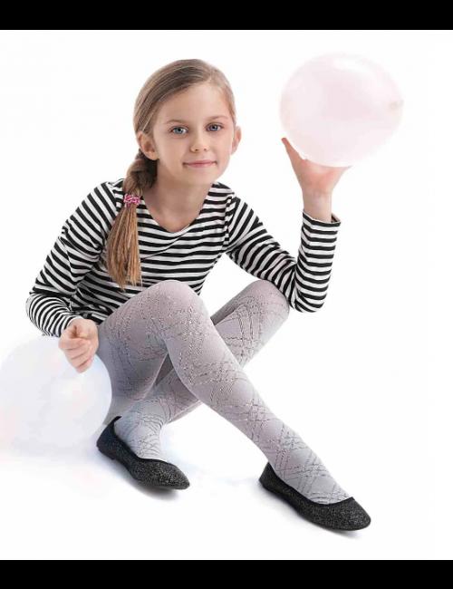 Children's patterned stockings BRENDA Knittex