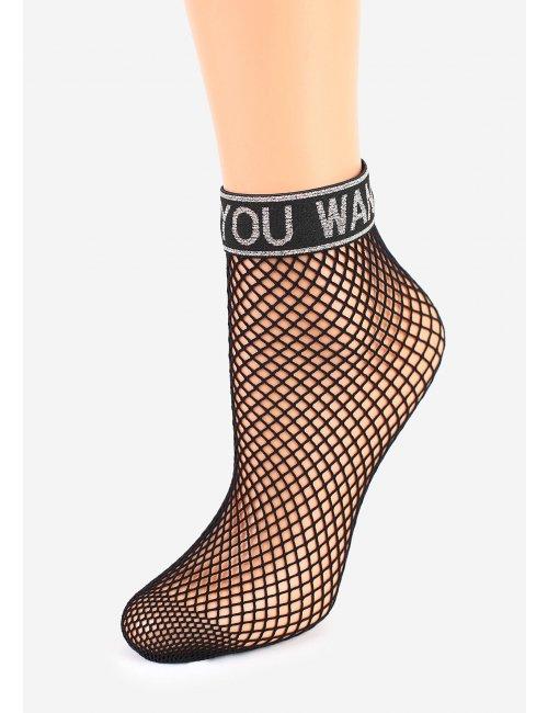 Women's Fishnet Socks CHARLY S54 Marilyn