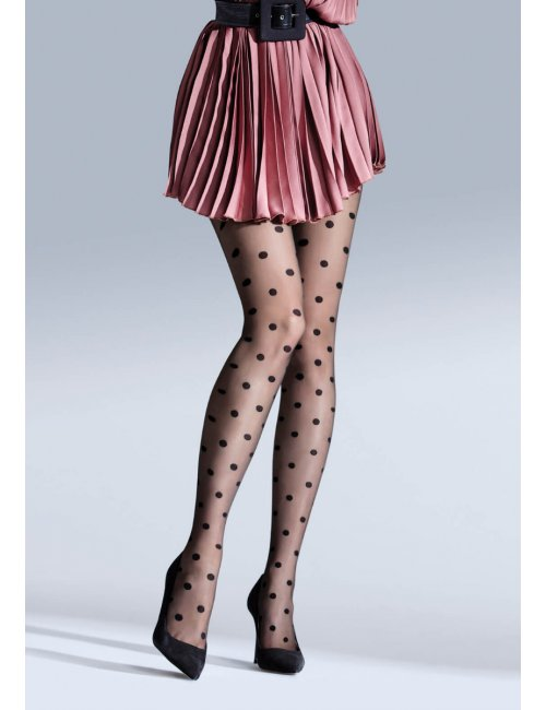 Women's dotted tights CIRCLET 20DEN Knittex