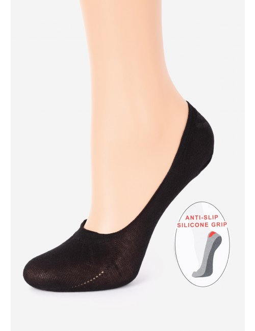 Women's Cotton Footsies COTTON Anti-Slip Marilyn