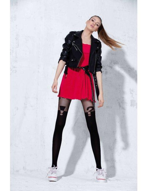 Women's patterned stockings