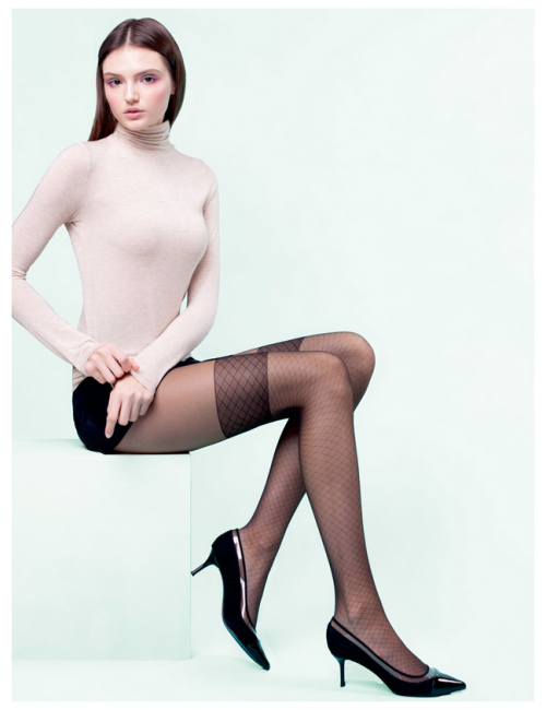 Women's patterned tights DIANA 20DEN Gabriella
