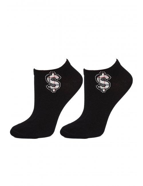 Women's socks FOOTIES DOLLARS S31