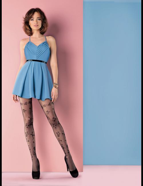 Women's patterned tights FLAVIA 649 20DEN Gabriella