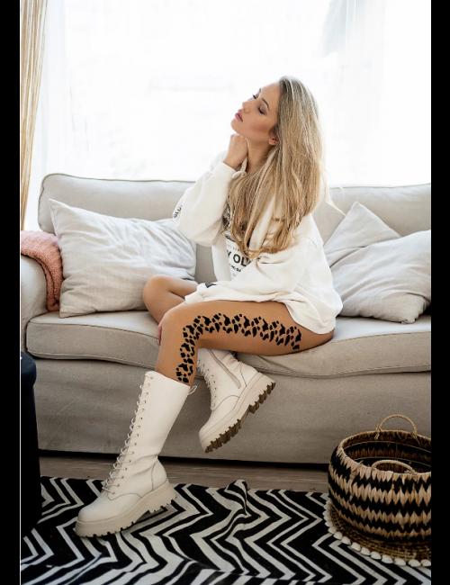 Women's patterned tights FLEXY 20DEN Knittex