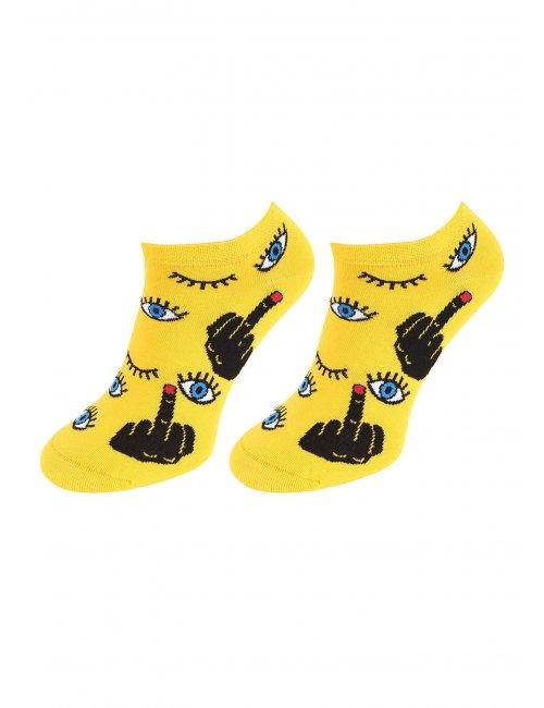 Men's socks FOOTIES FINGEREYE Marilyn
