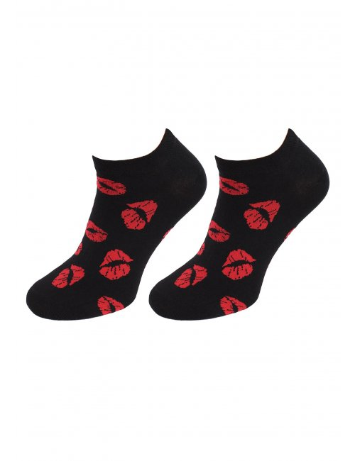 Men's socks FOOTIES KISS KISS Marilyn