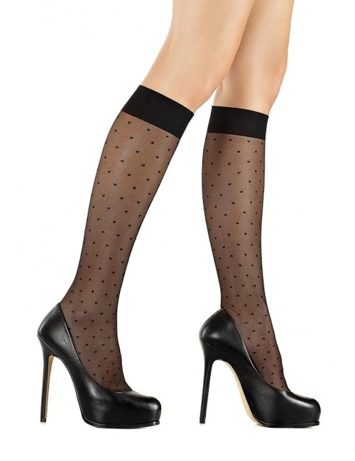 Women's dotted stockings FORTE PL716 Marilyn