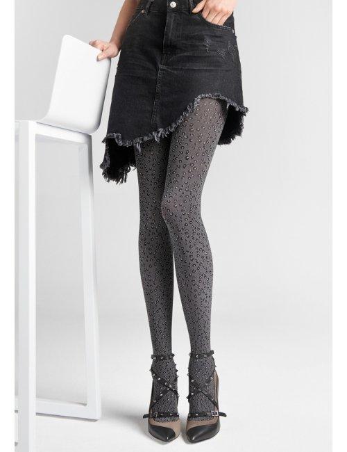 Women's patterned tights GRACE L04 60DEN Marilyn