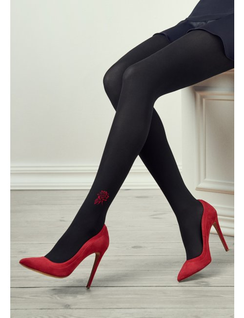Women's patterned tights GUCCI G33 100DEN Marilyn