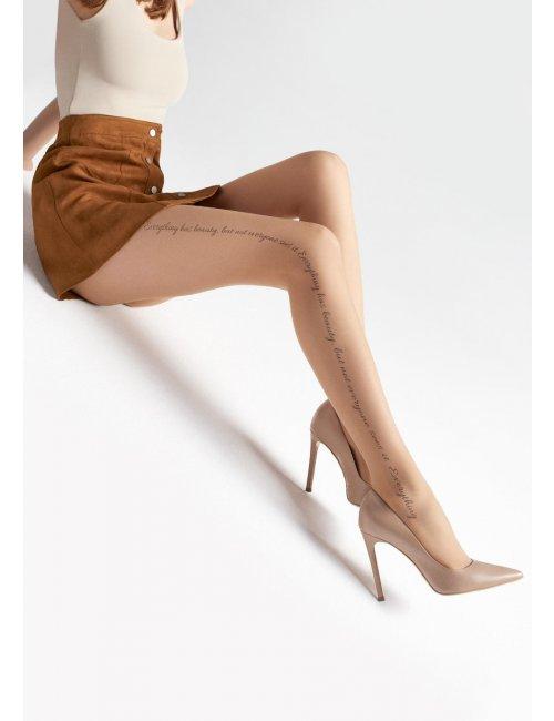 Women's patterned tights EMMY U02 20DEN Marilyn