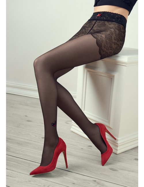 Women's patterned tights GUCCI G31 20DEN Marilyn