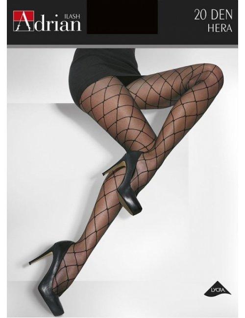 Women's patterned stockings HERA 20DEN Adrian