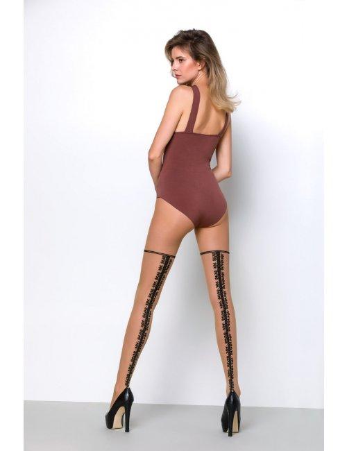 Women's patterned tights IDENTITY 20DEN Knittex