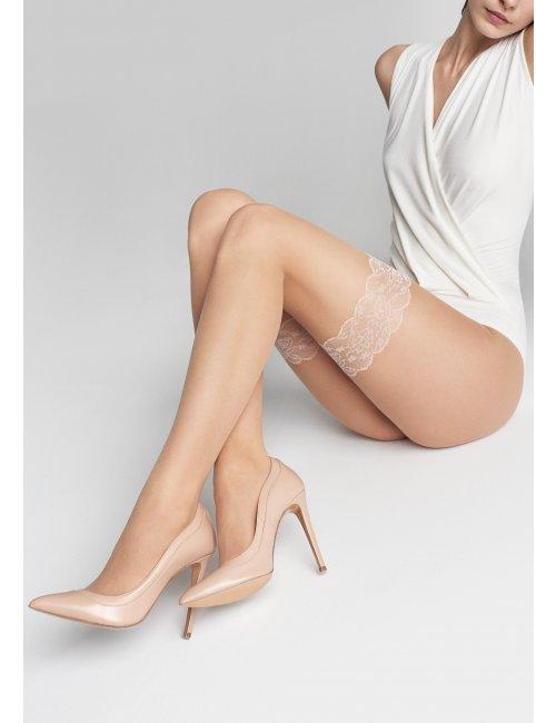 Women's patterned tights NATTI M07 20DEN Marilyn