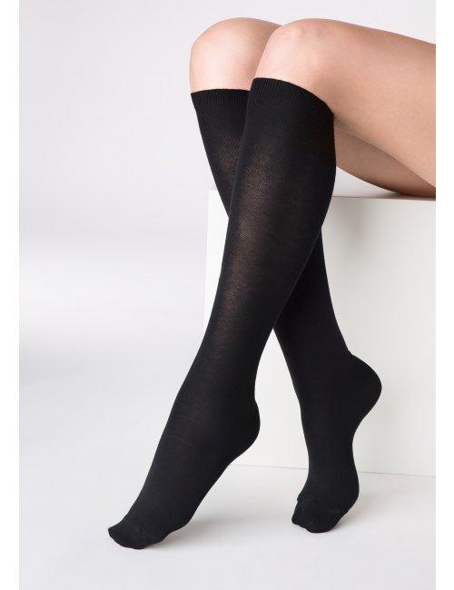 Women's knee-high stockings PIANO COTTON Marilyn