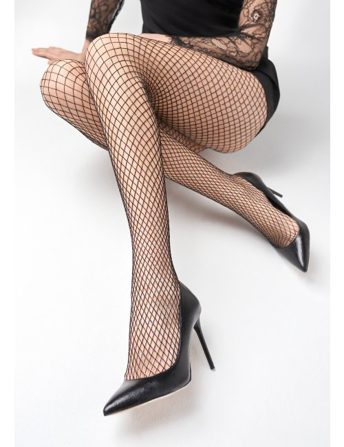 Women´s netting stockings CHARLY N54 Marilyn