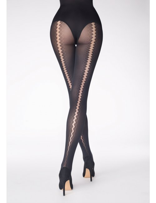 Women's patterned tights NADIA MV 629 40DEN Marilyn