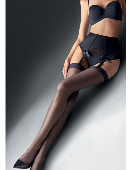 Women's Tights with a Suspender Belt COCO AIR 5DEN Marilyn