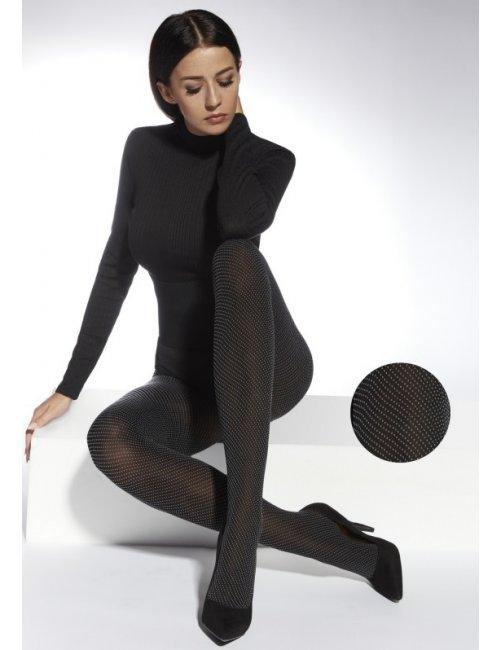 Women's patterned tights IWA 40DEN Adrian