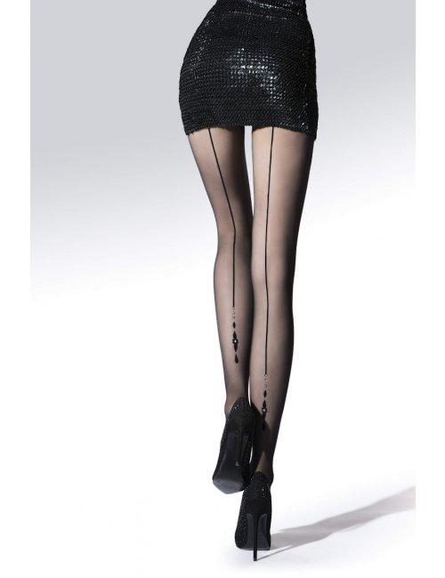 Women's patterned tights JEWEL 20DEN Knittex