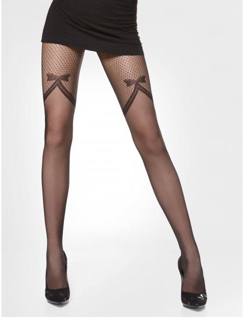 Women's patterned tights JUSTINE 20DEN Adrian