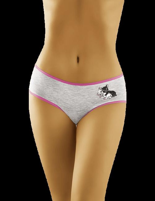 Women's cotton panties Kittens 2502 Wolbar