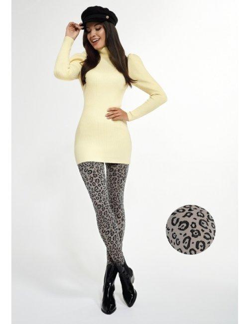 Women's patterned tights LEOPARD 40DEN Adrian