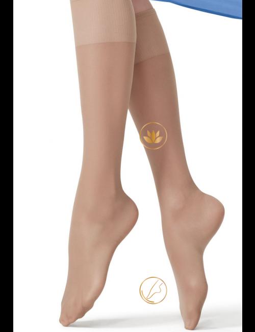Women's medical knee-high stockings MINI REPOSE 40DEN Golden Lady
