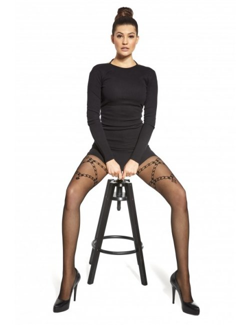 Women's patterned tights MISTERO 20DEN Adrian