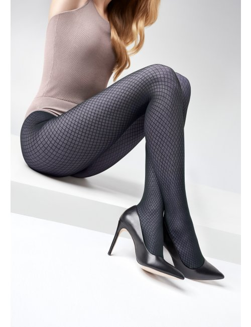 Women´s patterned tights GRACE N05 40DEN Marilyn