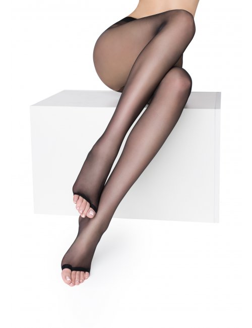 Women's toeless tights NUDO NF 15DEN Marilyn