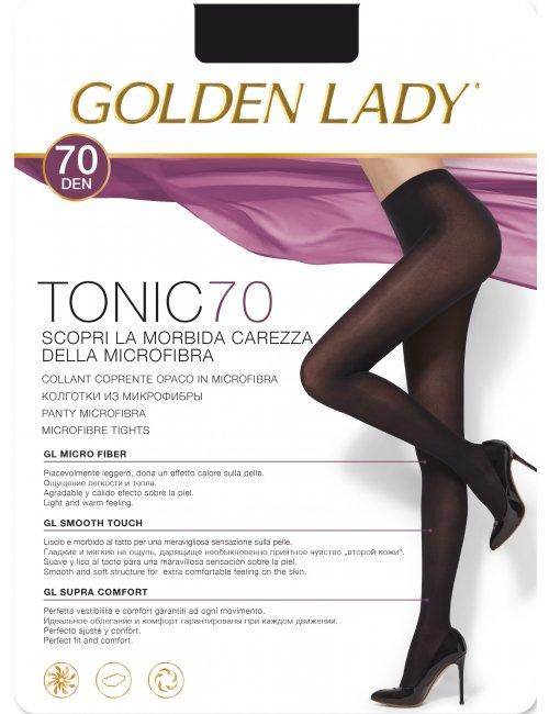 Women's opaque tights TONIC 70DEN Golden Lady