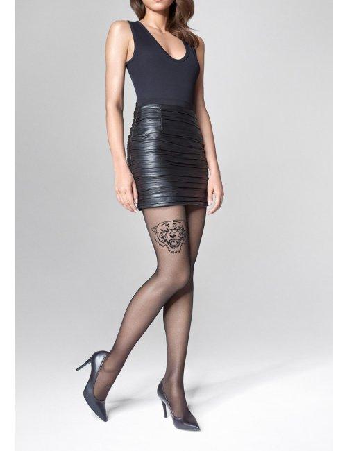 Women's patterned stockings ALLURE R09 20DEN Marilyn